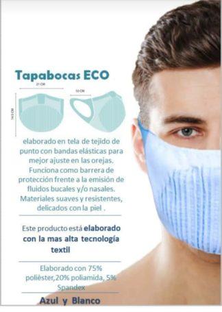 Tapabocas reutilizable