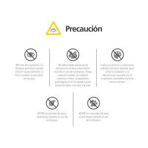 precaucion germicida