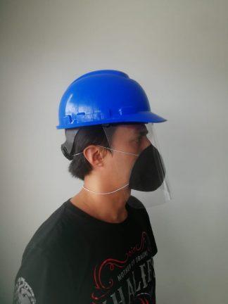 mascara para casco